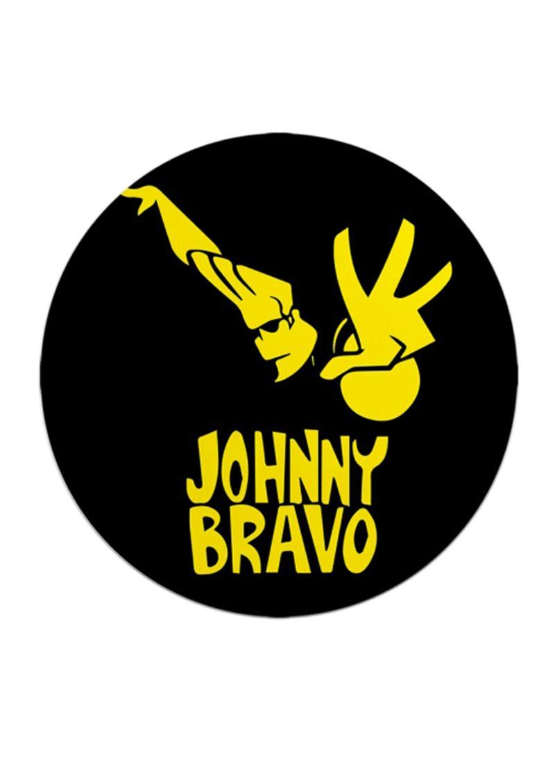 Shop LOUD UNIVERSE Johnny Bravo Printed Mousepad Black/Yellow online in  Dubai, Abu Dhabi and all UAE.