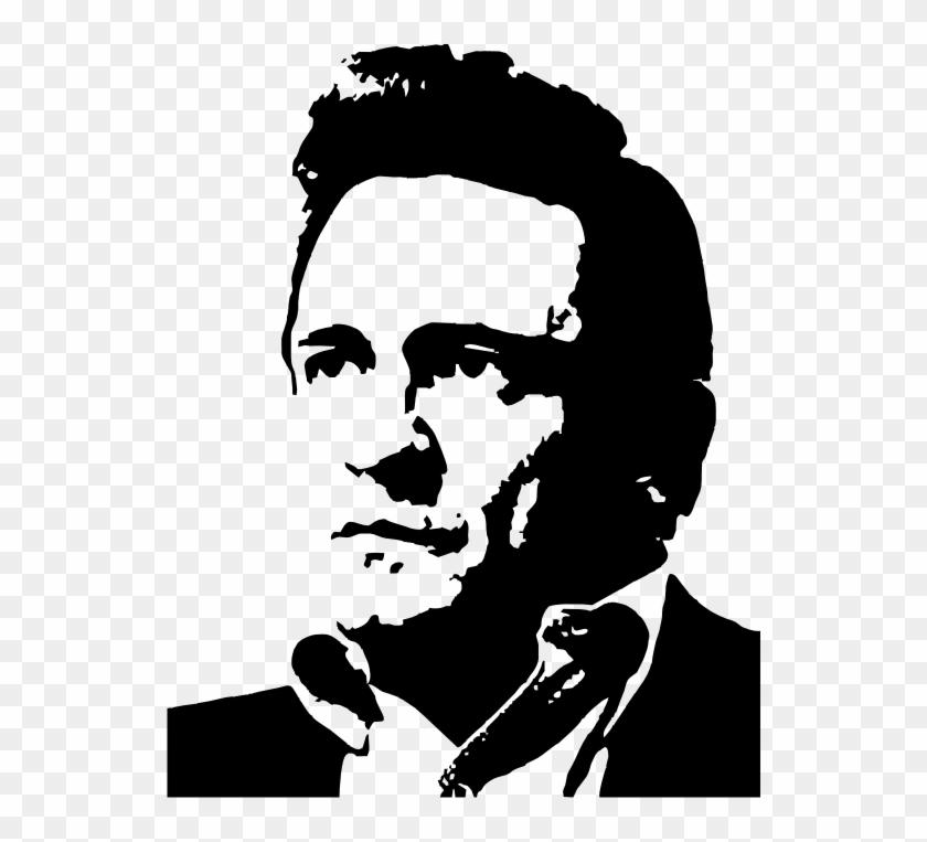 Johnny Cash Middle Finger Png.