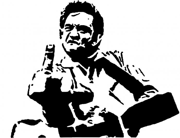 Johnny Cash Png Vector, Clipart, PSD.