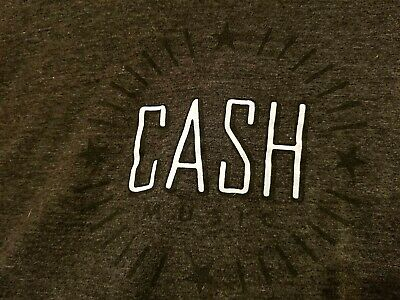 Mens,Gray,Country,Singer,Man in Black,Johnny Cash,\