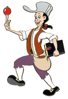 Johnny Appleseed Clipart.