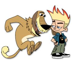 Johnny test.