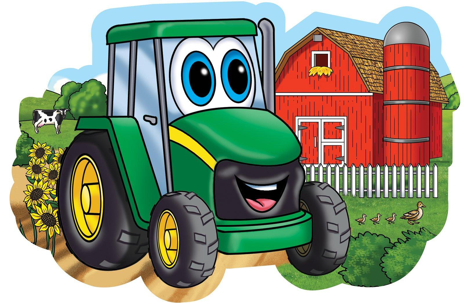 Johnny Tractor Clipart Clipground