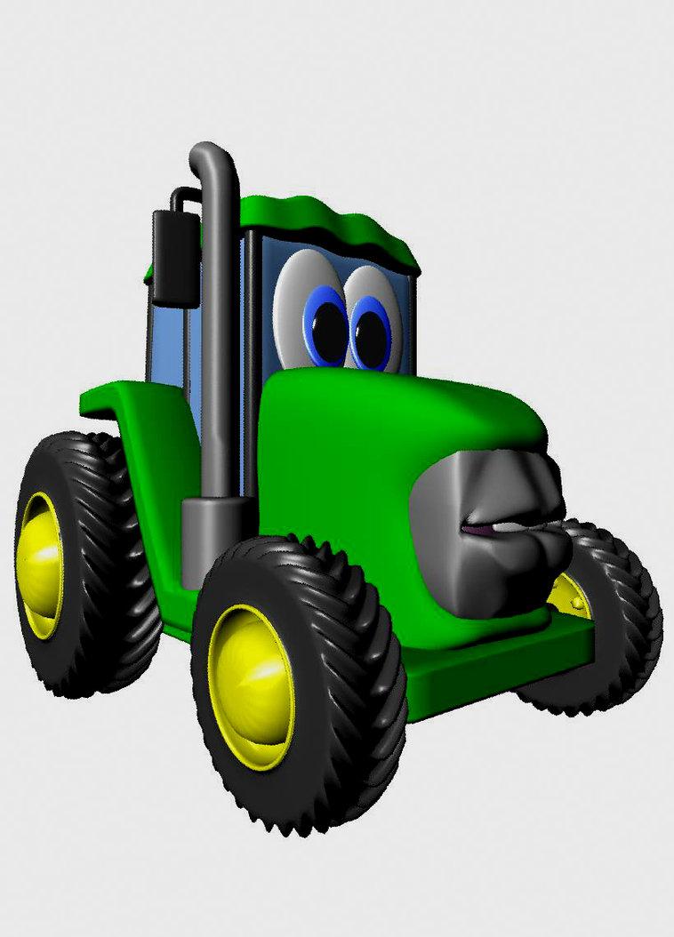 Johnny tractor by AQart2 on DeviantArt.