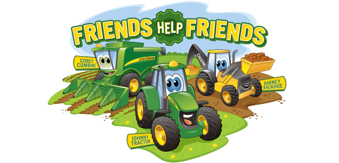 Showing post & media for Johnny tractor cartoon.