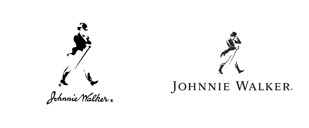 Brand New: New Logo and Global Campaign for Johnnie Walker by Bloom.