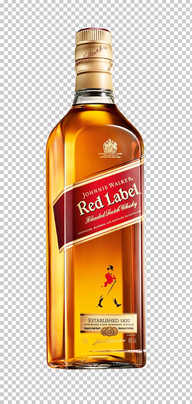Blended Whiskey Scotch Whisky Johnnie Walker Distilled Beverage PNG.
