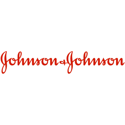 Johnson and Johnson Logo transparent PNG.