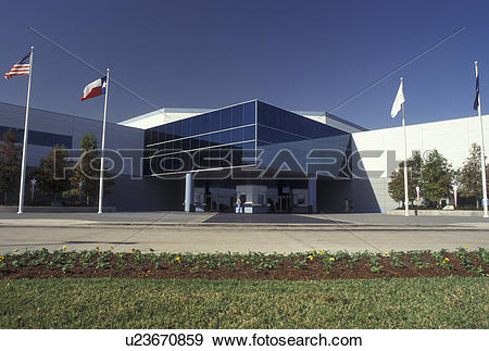 Stock Photograph of space center, Houston, TX, Texas, Space Center.