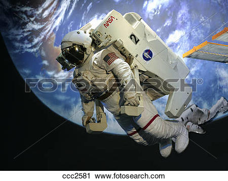 Stock Photography of Lyndon B. Johnson Space Center, astronaut and.