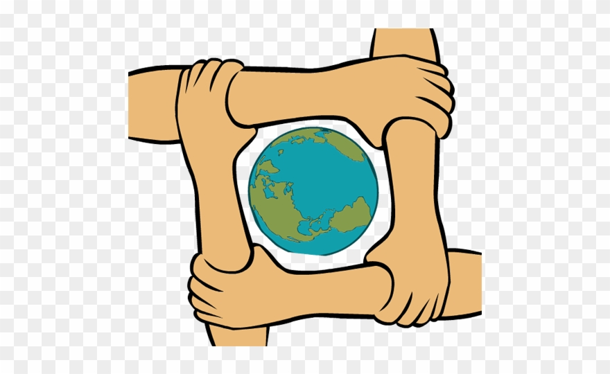 Clip Art King Martin Luther Day Join Hands Globe.