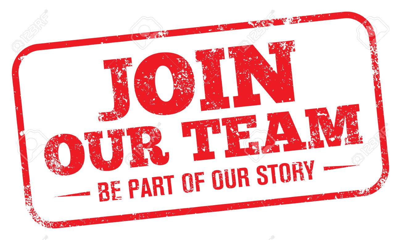 Join our team stamp..