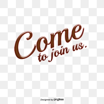Come And Join Us PNG Images.