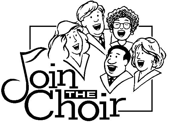 Free choir clipart pictures 4.