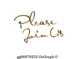 Please Join Us Clip Art.