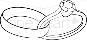 Linked Rings Clipart.