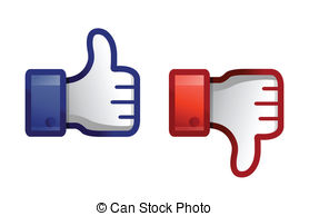 312 Thumbs Down free clipart.