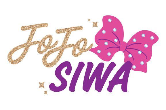 JoJo Siwa Bow Logo Temporary Tattoo.