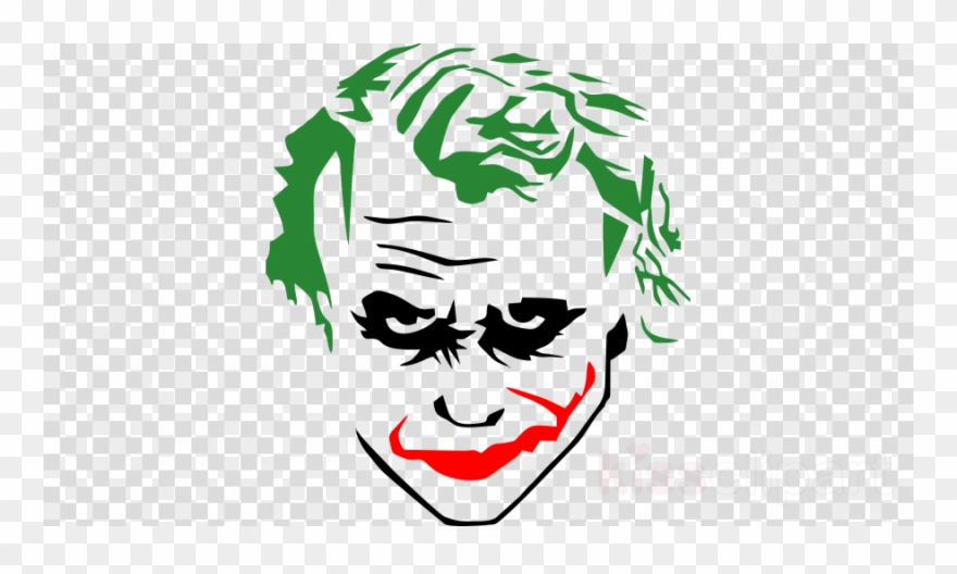 Joker Stencils Clipart Joker Batman Harley Quinn.