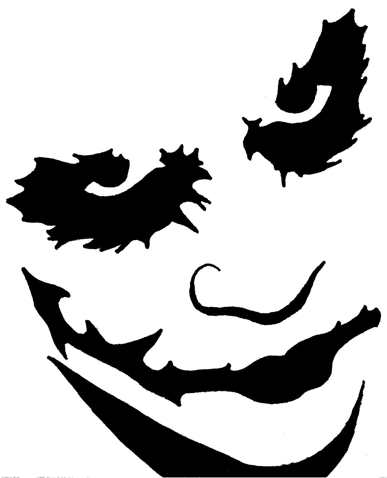 Joker Clipart to printable.