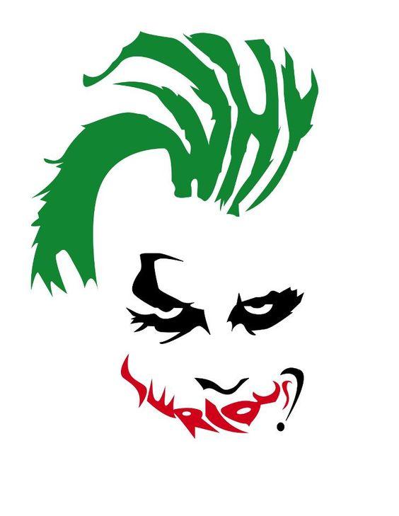 Joker drawings why so serious