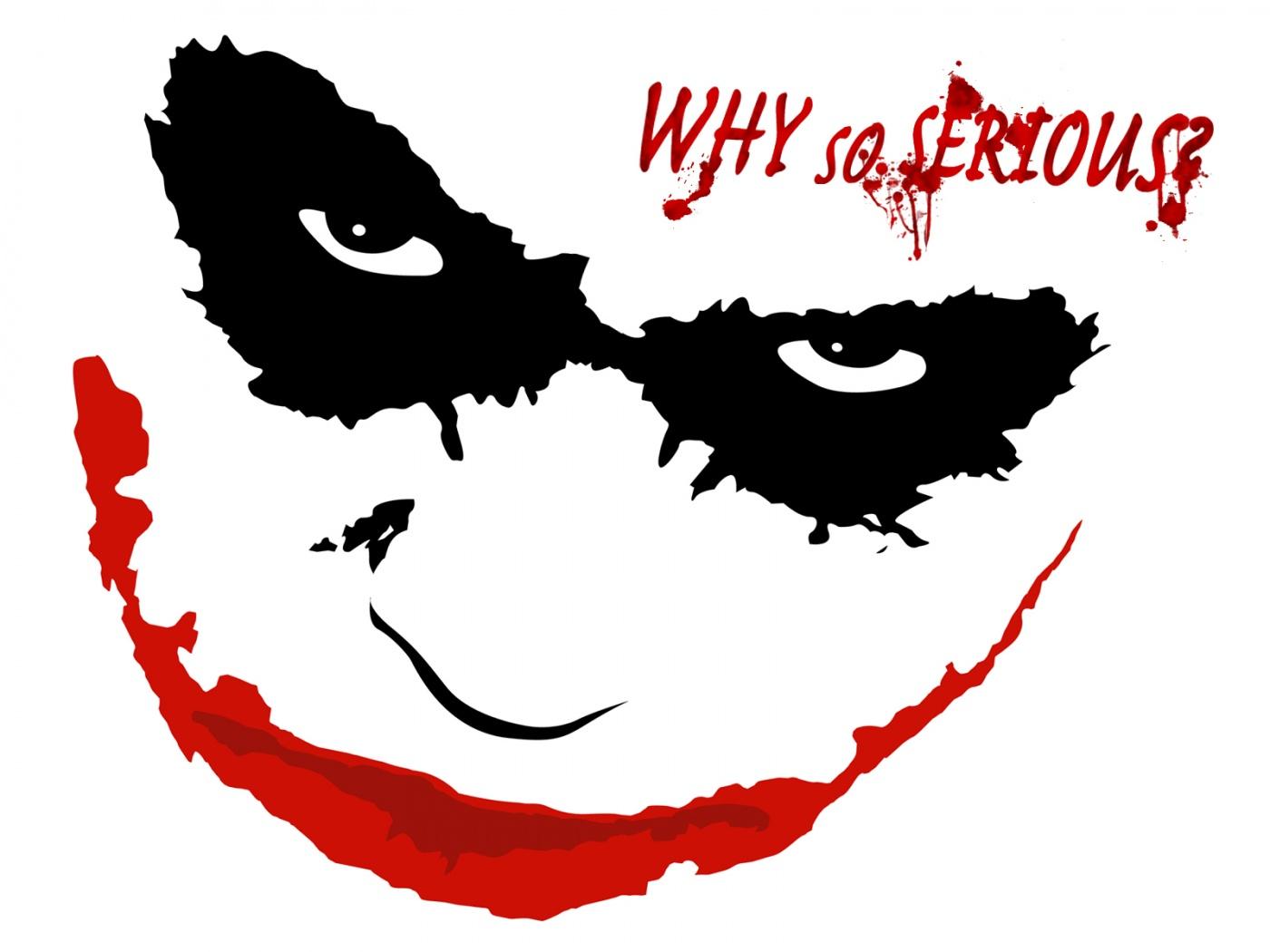 Joker clipart dark knight.