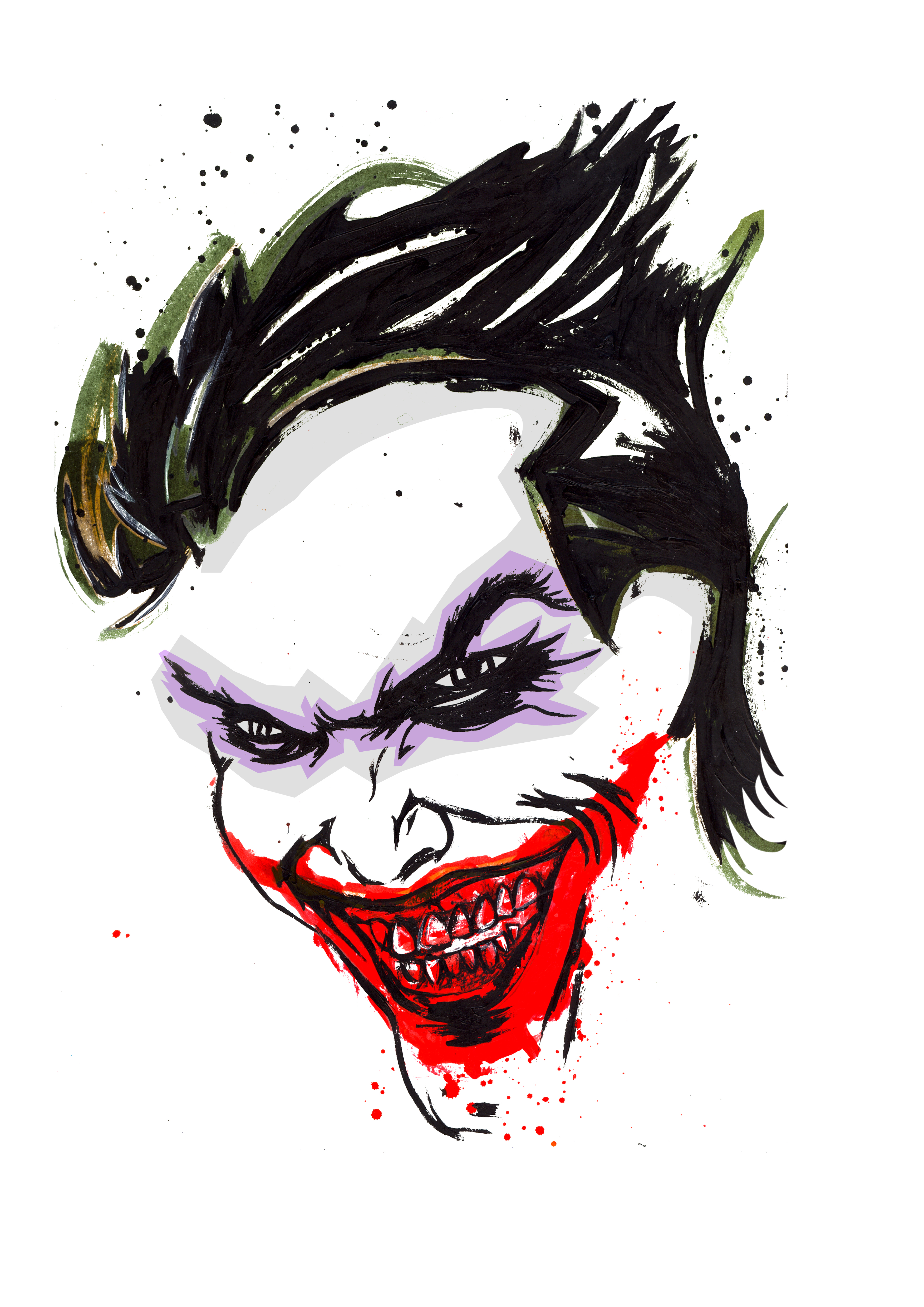 Batman Joker Logo.