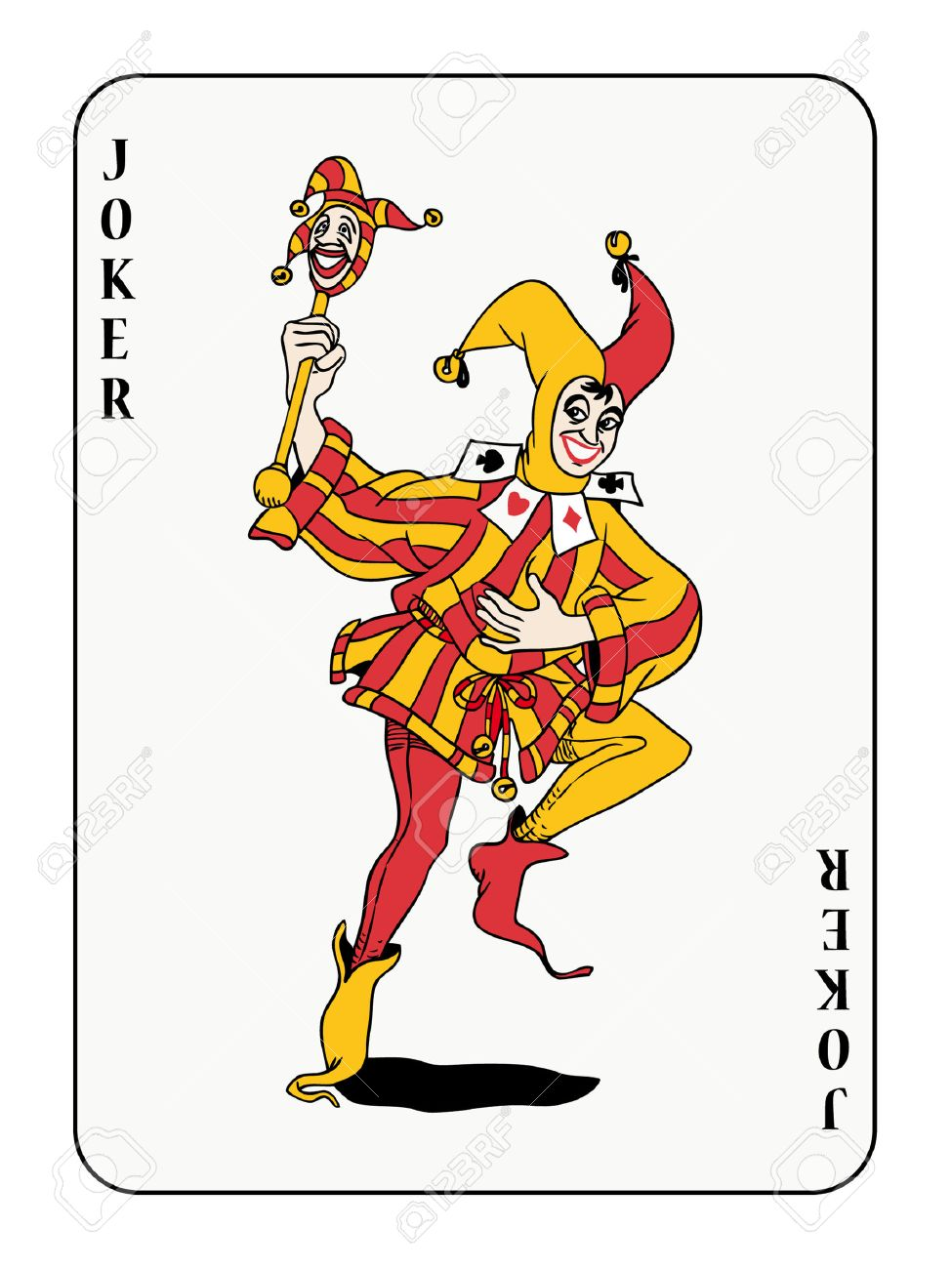 joker playing card.