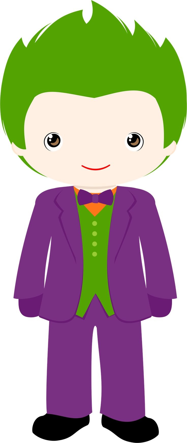 Cute Joker Clipart.