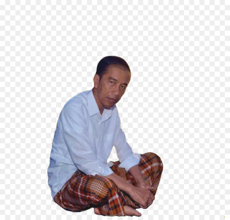 Joko Widodo Sitting png download.