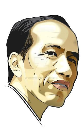 Jokowi Vector.
