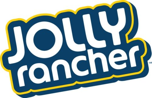 Jolly Rancher's logotype is simple but the way the letters curve.