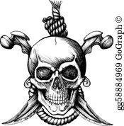 Jolly Roger Clip Art.