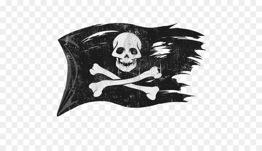 Jolly Roger Piracy Flag.