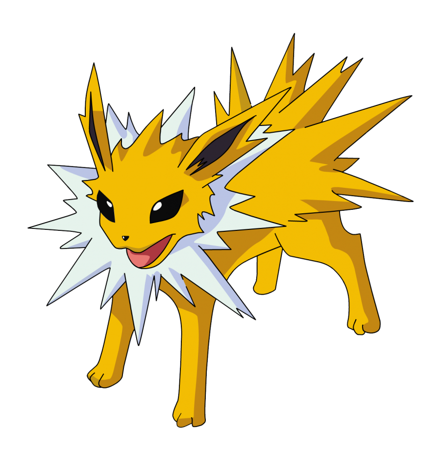 Download Free png jolteon pokemon png cartoon image transparent.