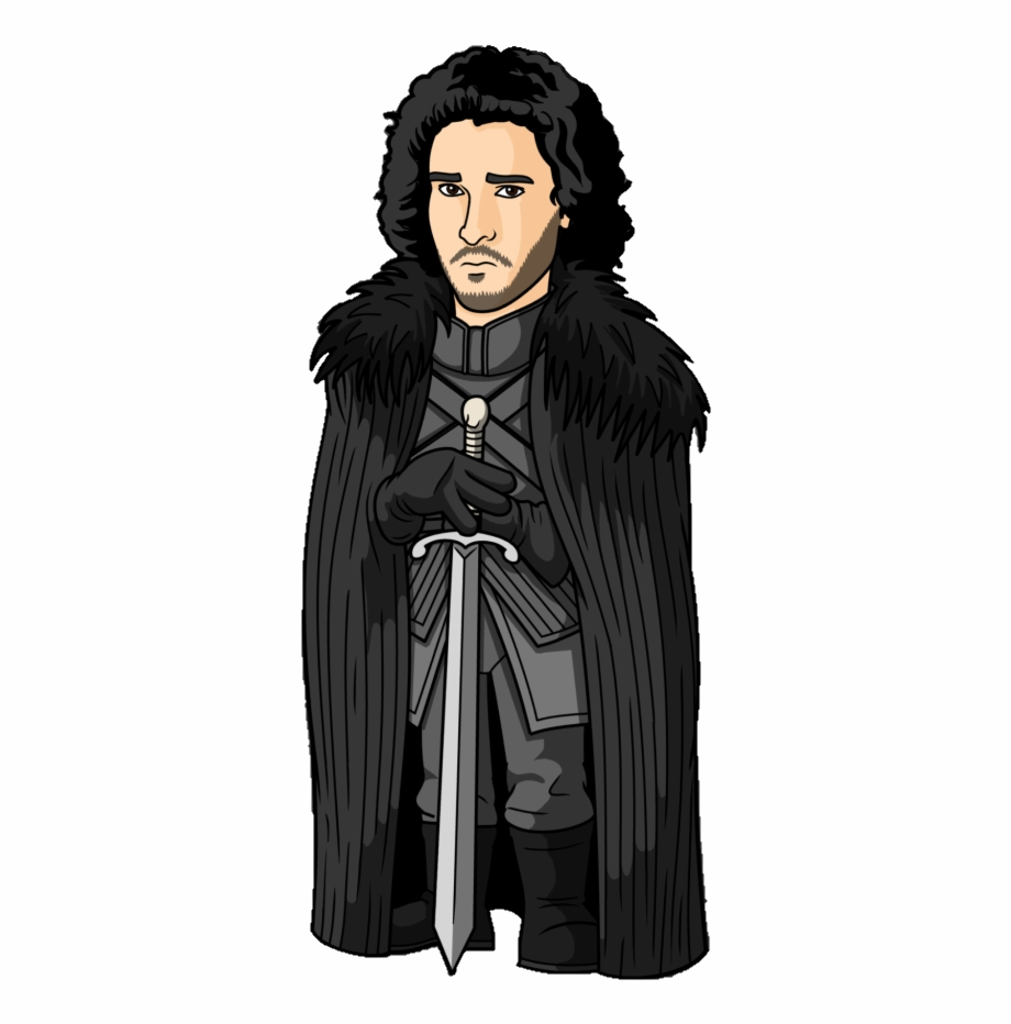 Jon Snow Cartoon Pictures Of Game Of.