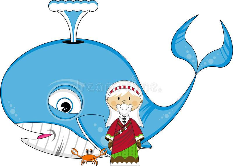 Jonah Whale Stock Illustrations.