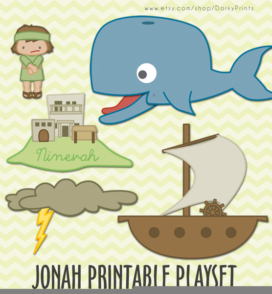 Jonah The Whale Clipart.