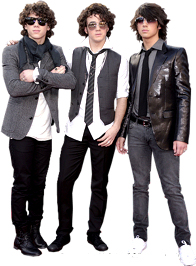 Free The Jonas Brothers Clipart and Disney Animated Gifs.