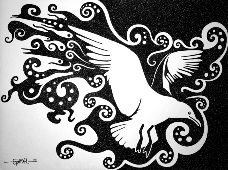 Jonathan Livingston Seagull by Jose.