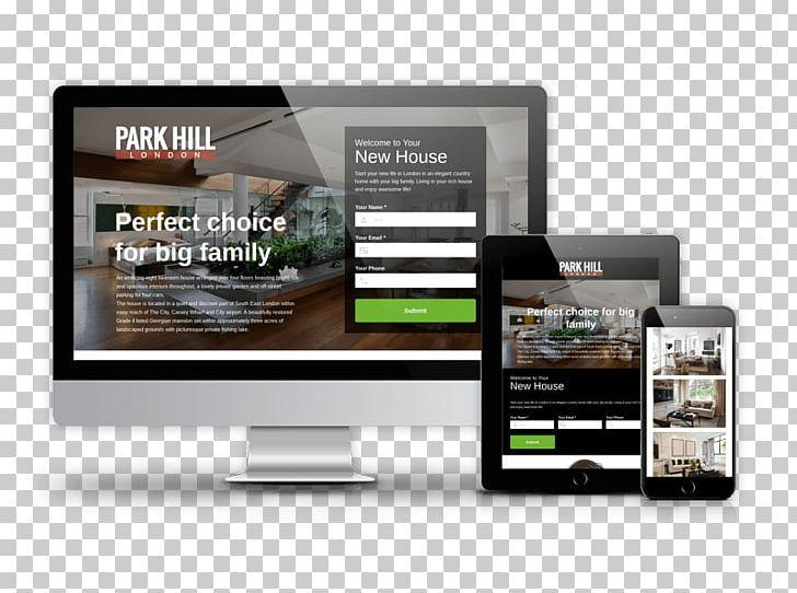 Responsive Web Design Template Landing Page Joomla.