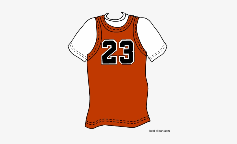 Basketball Shirt, Free Clip Art.
