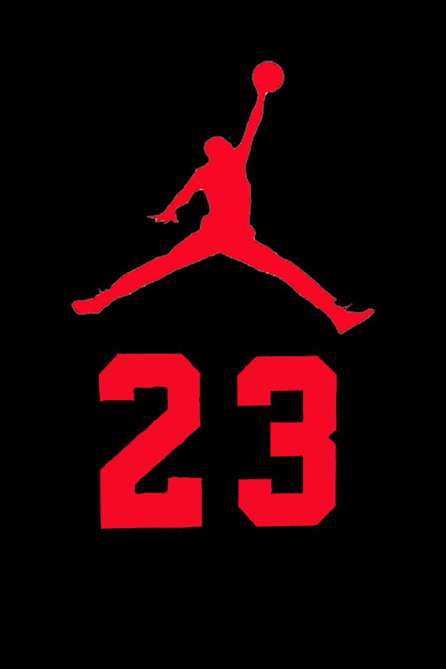 red jordan logo.