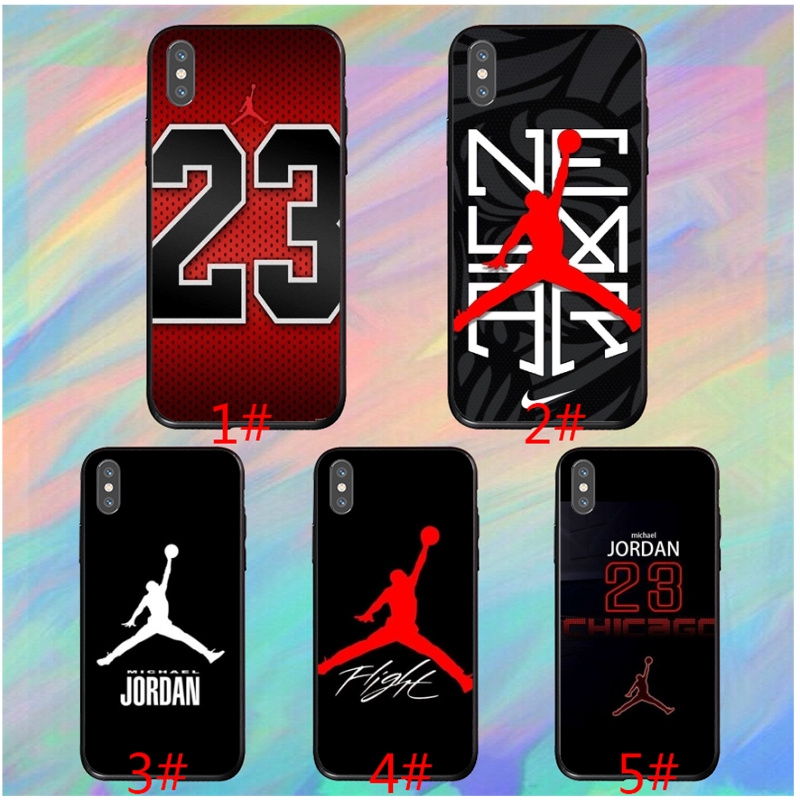Michael Jordan 23 Logo For samsung j8 j7 16 j6 plus j7core j7 prime Case.