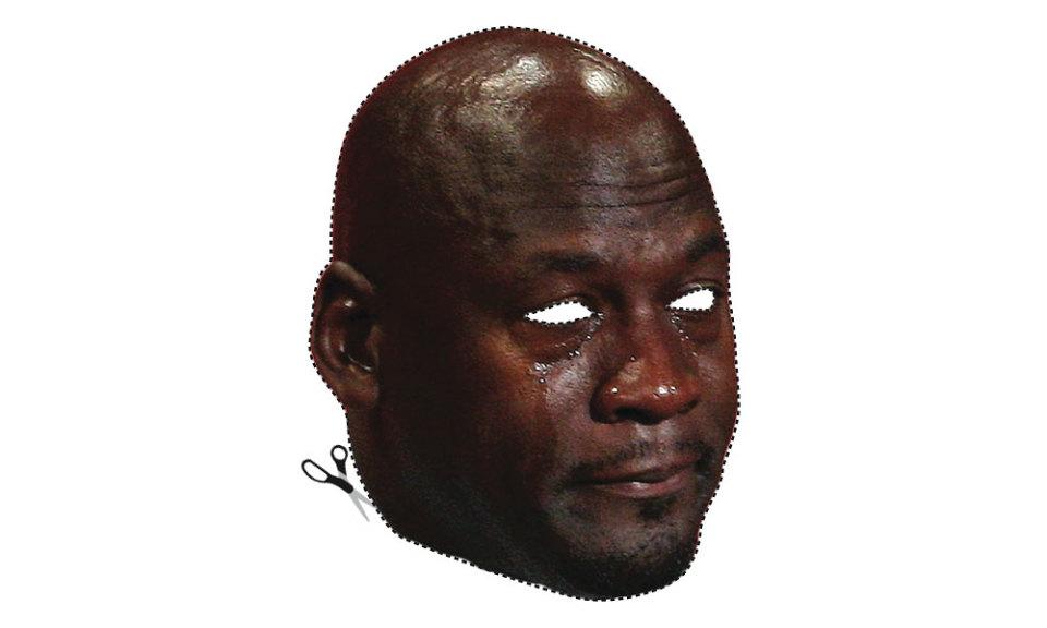 Michael Jordan Crying Png.