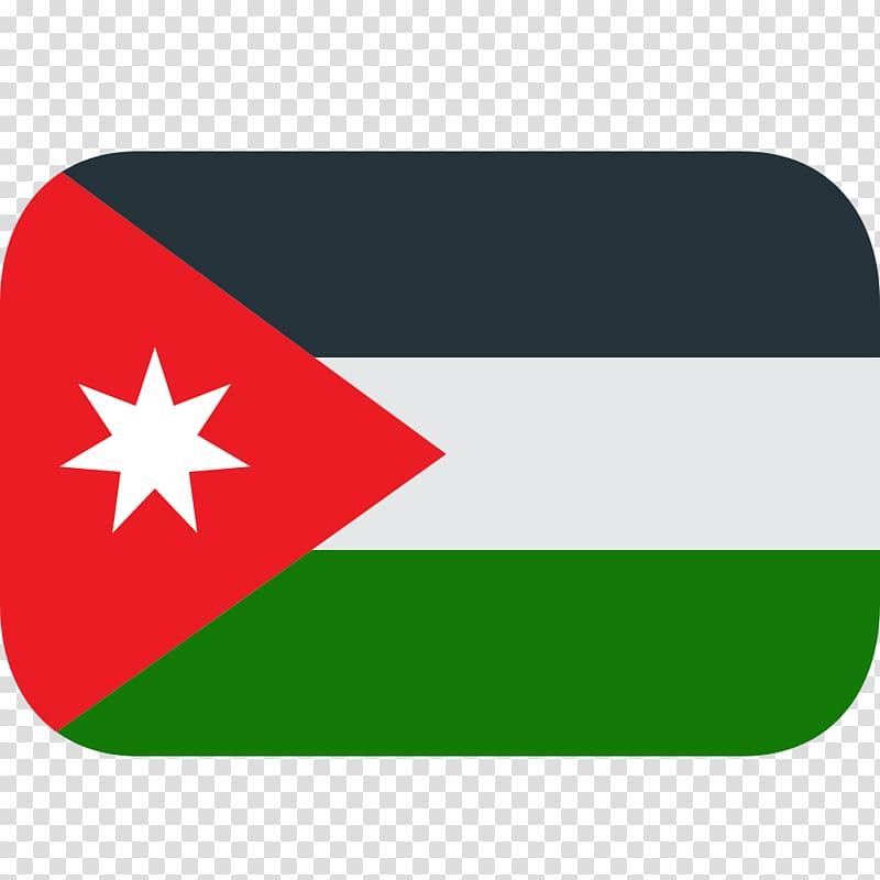 Flag of Jordan National flag Flags of Asia, Flag transparent.