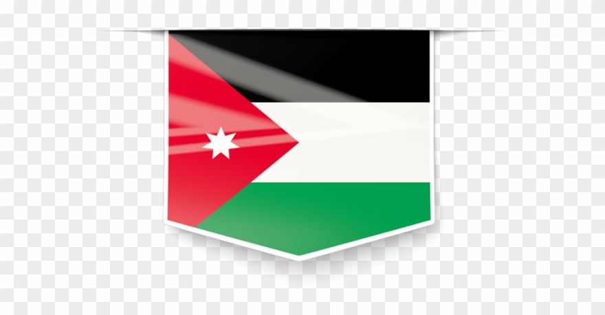 Jordania Clipart Jordan Flag.