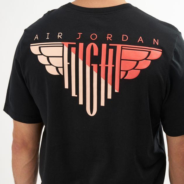 Jordan Men\'s Wings Flight Logo T.