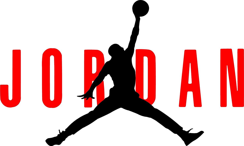 AIR Jordan Flight 23 Jumpman Logo NBA Huge Vinyl Decal Sticker for Wall Car  Room Windows (6\