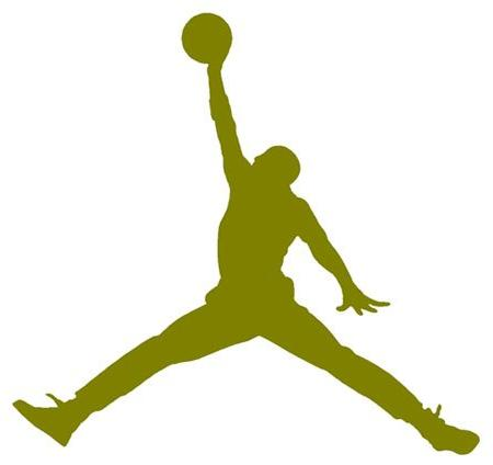 Air Jordan Nike Jumpman Logo Vinyl Sticker Decal.